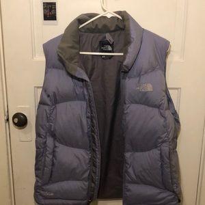 L Women's Lilac The North Face 550 Vest